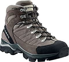 KAILASH GTX, another new entry of the Zero Gravity line, boasts a suede upper with the added protection of a GORE-TEX lining. An advantage in lightness and waterproofness. While it's Vibram Hi-Trail sole unit, which incorporates a PU wedge fo...