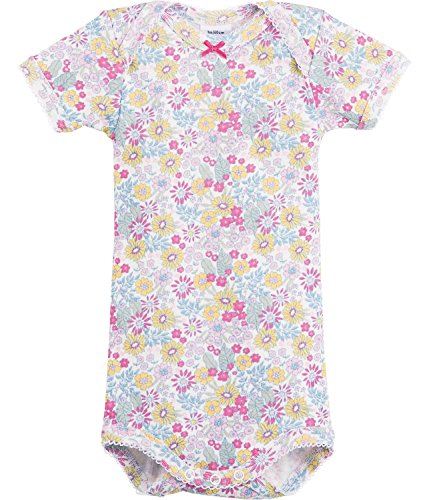 (Petit Bateau Babies Onsies Floral Print Sizes 3/24 Months (12/M, FLORAL PRINT))