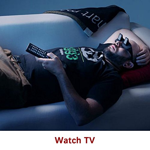 Flammi Bed Prism Glasses Horizontal Glasses Lazy Spectacles Lie Down for Reading/Watching TV
