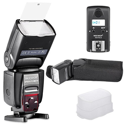 Neewer NW570 Master Slave Wireless Flash Speedlite with Built-in 2 4G Trigger System for Nikon Cameras Such as D7200 D7100 D5200 D5100 D5000 D3000 D3100 D700 D600 D90 D80 D70