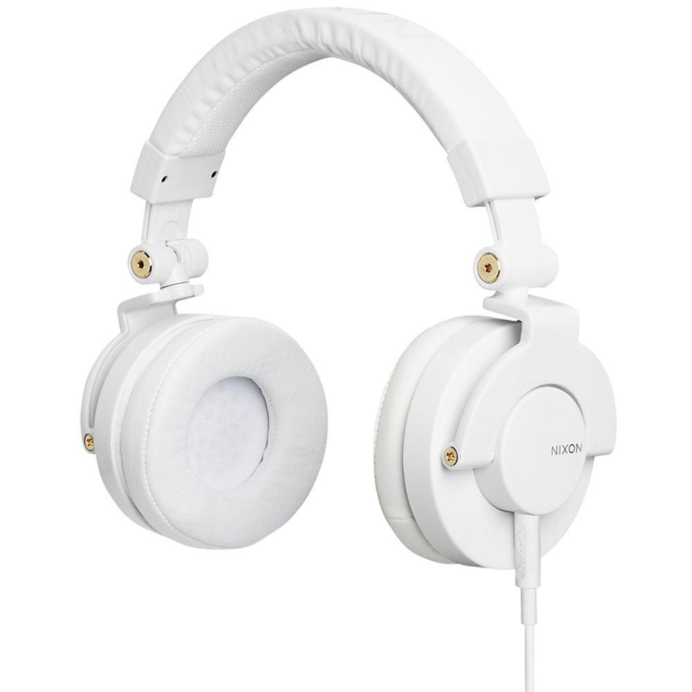 Nixon RPM headphonesホワイト/ゴールド、ワンサイズ   B004WUBNRI