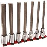Wright Tool #406 7-Piece Long Length Hex Bit Socket Set