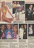Julie McCullough Leggy original clipping magazine photo 1pg 9x12 #R3843