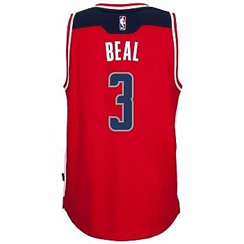 super popular 2ea69 2120c Amazon.com : Washington Wizards Bradley Beal Adidas Road ...