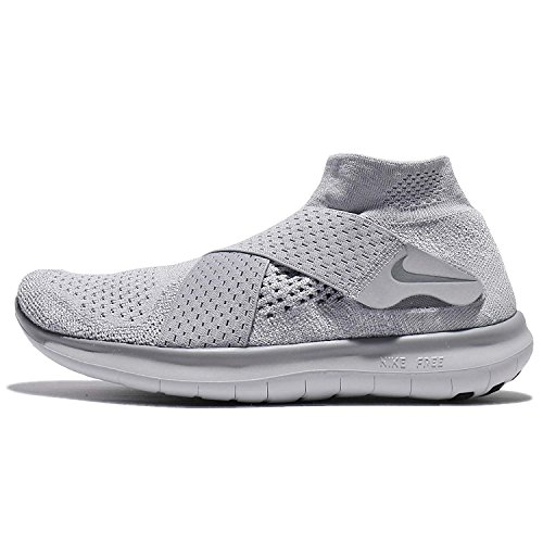 Nike W Free Rn Motion Fk 2017, Women's Trail Running Shoes Gray (Wolf Grey / Cool Grey / Pure Platinum 005)