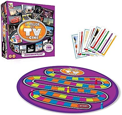 IMC Toys - Juego Lo Mejor De La TV Mas De 1000 Preguntas 43-7680: Amazon.es: Juguetes y juegos