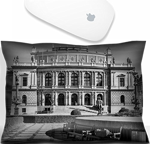 Luxlady Mouse Wrist Rest Office Decor Wrist Supporter PillowIMAGE: 33886384 Man sleeping on a bench outside the Rudolfinum building on Jan Palach Square in (Office Square Bench)
