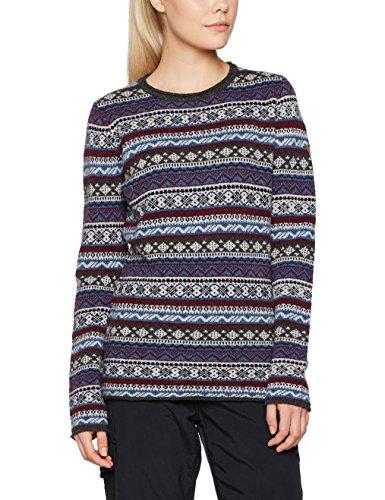 Fjäll Räven Women's Ovik Folk Knit Sweater, Uncle Blue, L