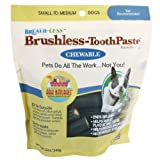 Ark Naturals CHEWABLE BRUSHLESS TOOTHPASTE FOR SM-MED PETS, My Pet Supplies