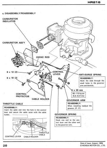 honda hr hra hrc hrc lawn mower service repair shop manual buy   uae
