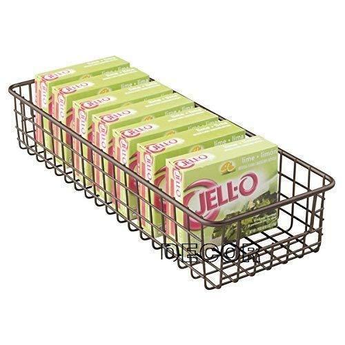 Indian Decor Wire Storage Basket For Kitchen Pantry Cabinet Slim Storage Ideas For Home Black Amazon In Home Kitchen