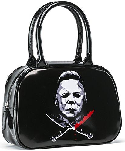 Halloween 2 Cross Knives Michael Myers Handbag