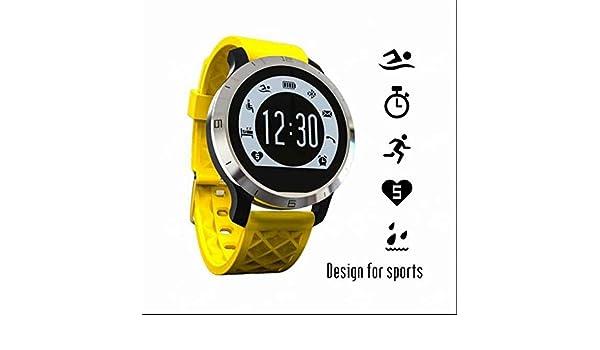 A prueba de sudor Smartwatch pantalla de cristal de, rígida ...