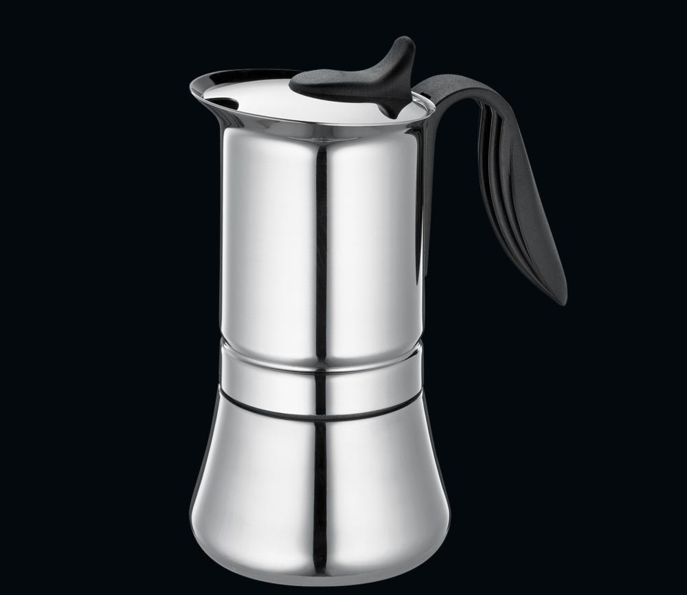 Cilio 2228514 EspressokocherOtello f/ür 6 Tassen
