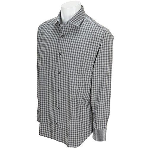 ビーヌーヴォ B.NUOVO 長袖シャツ?ポロシャツ ギンガムチェック長袖カッターウェイシャツ