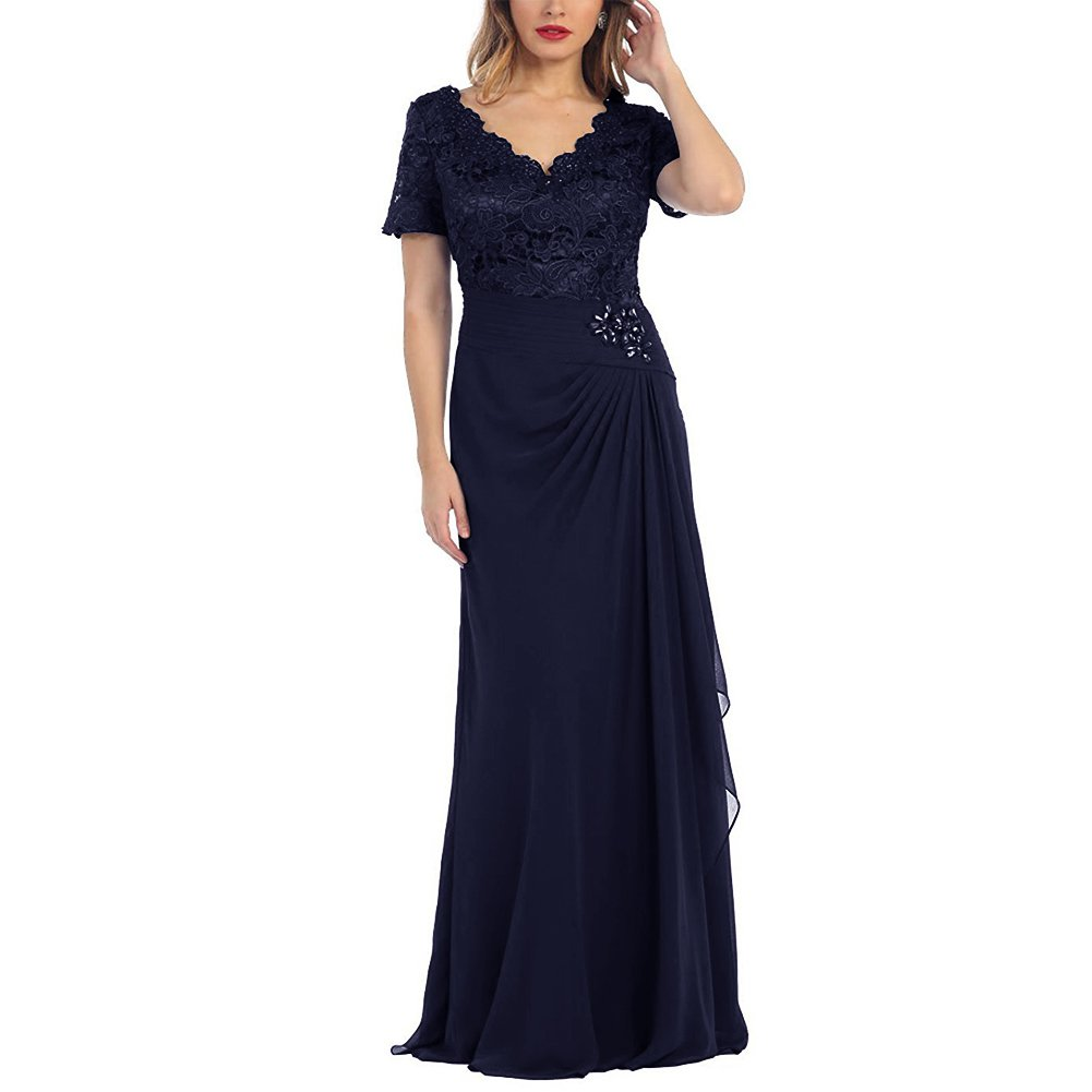 6df0b565aa Short Navy Blue Mother Of The Bride Dresses - Gomes Weine AG