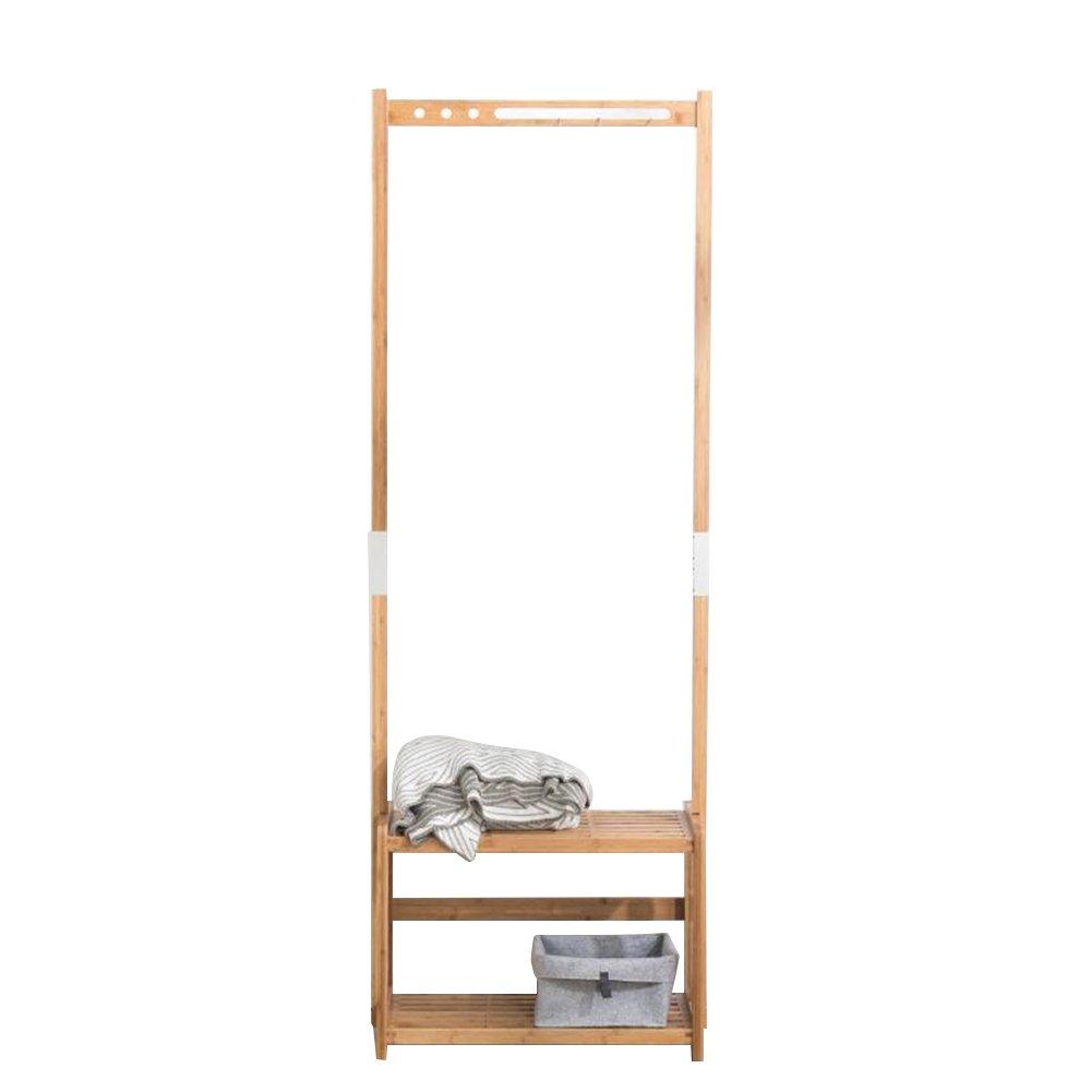 Wood coat hat rack / floor bedroom hanger / simple clothes rack / European household racks / clothes hangers /(63/78178cm) ( Size : 63178cm )