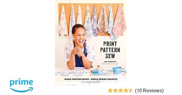 Amazon.com: Print, Pattern, Sew: Block-Printing Basics + Simple ...