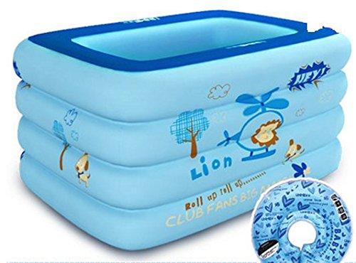 Amazon.com: Bebé piscina/piscina HINCHABLE cuadrado/New ...