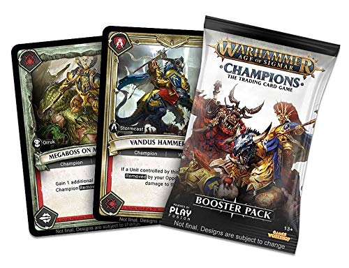 PlayFusion PLFW82501 Booster Display Warhammer Age of Sigmar Champions Collectible Card Game from PlayFusion Inc