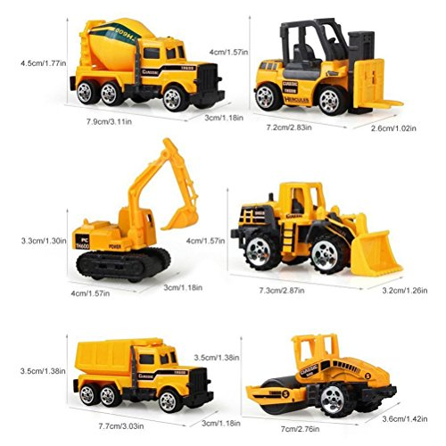 Review Odowalker Assorted Construction Vehicles