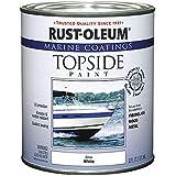 Rust-Oleum 206999 Marine Topside Paint, Gloss White, 1-Quart