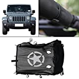 Kitty Party For Jeep Wrangler Jeep JK 4 Door 2007-2017 Durable Mesh Sun Shade Full Top Cover UV Protection with Storage Pockets