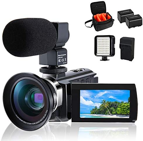 Camcorder CofunKool Vlogging External Microphone product image