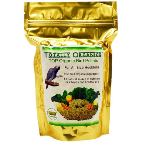 Totally Organics TOP Pellets for all size Parrots, My Pet Supplies