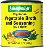Seitenbacher Vegetable Broth and Seasoning - 5 oz. can (3-Pack)