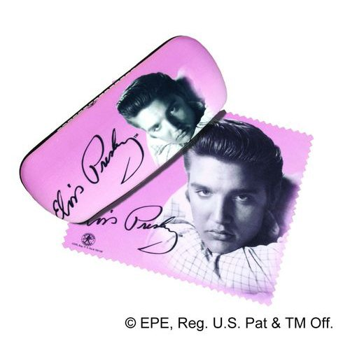 Elvis Presley Eyeglass Case and Cleaner Spoontiques
