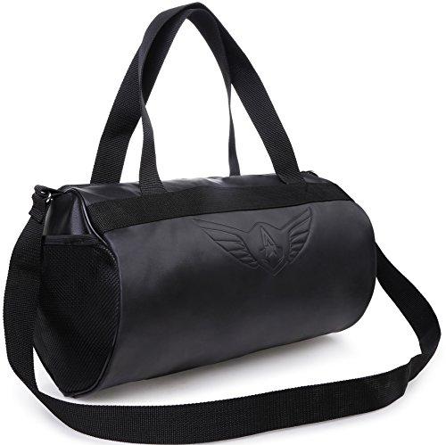AUXTER BLACKY Gym Bag Duffel Bag Emboss Logo ( Black ) Price & Reviews