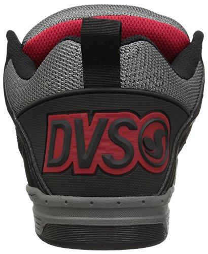 Noir DVS Gris Chaussure DVS Comanche Leather Chaussure w8PIPp