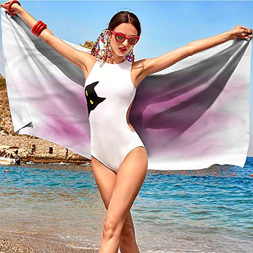 xixiBO Towel W31 xL63 Girls,Abstract Wedding Dress Vogue Absorbent Fabric Softener Towel