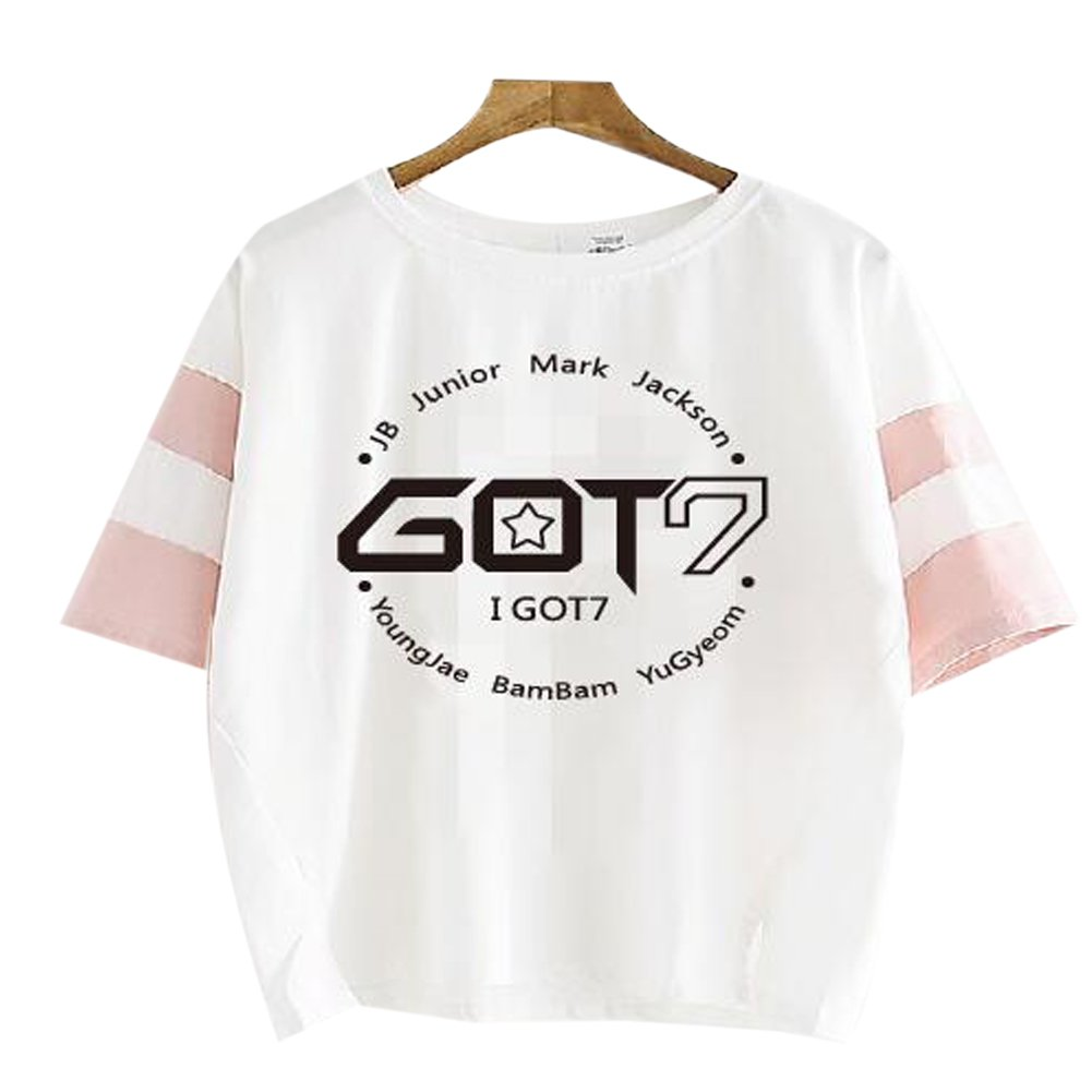 Summer Kpop GOT7 Bambam T Shirts JB Jackson Short Sleeve T-Shirts Casual Cotton Clothes T Shirt Teenagers Plus Size Tops