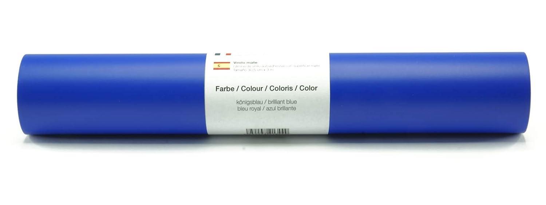 colori a scelta Blue Pellicola autoadesiva da parete//plotter in vinile opaco 30,5 cm x 3 m