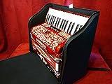 New Fuselli Pro Piano Accordion Soft Case Gig Bag 34 72 Fits Hohner Anacleto(Black)
