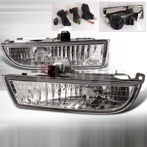 Spec-D Tuning OEM Style Fog Lights Honda Prelude 1997 1998 1999 2000 2001 - Clear ()