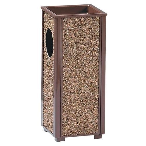 R41201PL Rubbermaid Commercial Sand Urn Litter Receptacles - 2.50 gal Capacity - 6