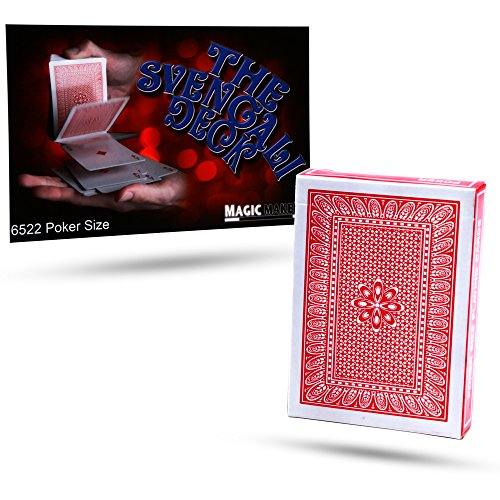Magic Svengali Deck - Magic Makers Svengali Deck - Poker Size Card Deck