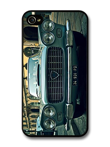 Old Vintage Retro Car Bonnet Headlights Classic Car Design case for iPhone 4 4S
