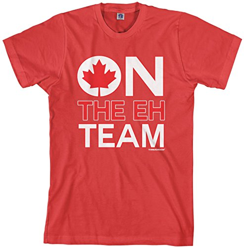 (Threadrock Men's On The Eh Team T-Shirt M)
