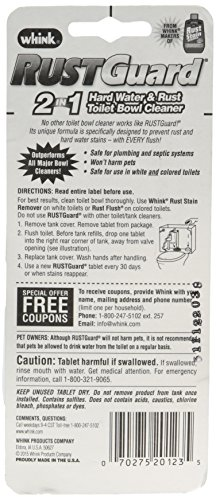 Rustguard Whink Time Released Bowl Cleaner, 4 Ounce