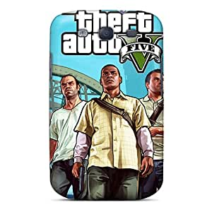 New Style Asbarn Gta 5the Hunt Premium Tpu Cover Case For Galaxy S3