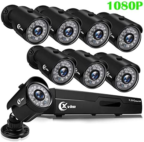 XVIM 1080P H.264 Home Wired Security Cameras System