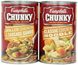 When you're hungry, you need Chunky - the soup that eats like a meal. Chunky soup is on a mission to fill you up, without weighing you down. Choose from over 30 flavors filled with big pieces of meat and vegetables.  Chunky soup is th...
