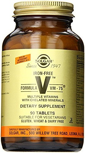 (Solgar – Iron-Free Formula VM-75, 90 Tablets)