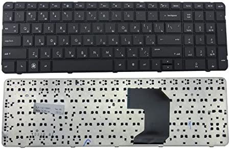 Compatible with part number 640208-001 633736-001 646568-001 636376-AB1 Eathtek Replacement Keyboard with BIG Enter for HP Pavilion G7-1000 G7-1100 G7-1200 G7T series Black US Layout