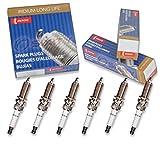 infiniti g37 spark plug - 6 pcs Denso Iridium Long Life Spark Plugs for 2008-2013 Infiniti G37 3.7L V6