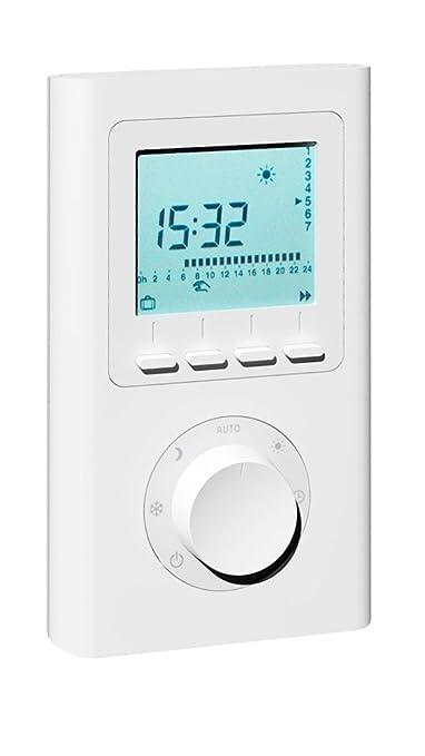 X2D Termostato de radio; Termostato inalámbrico: Amazon.es: Bricolaje y herramientas